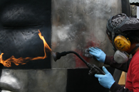 fire polishing