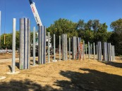 Column Installation | photo: Cole Sartore