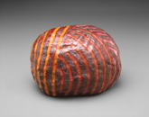 Hand-built glazed ceramic   7.5h x 10w x 8d in.   Photo credit: Dirk Bakker