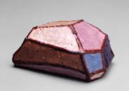 Hand-built glazed ceramic | 8h x 5w x 4d in. | Photo credit Dirk Bakker