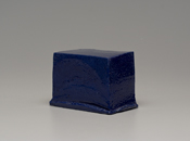 Hand-built glazed ceramic   6.5h x 9w x 6d in.   Photo credit Dirk Bakker