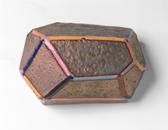 Handbuilt glazed ceramic   8h x 12w x 5.5d in.   Photo credit Dirk Bakker