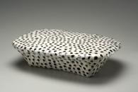 Hand-built glazed ceramic | 14h x 19.5w x 5d in. | Photo credit Dirk Bakker
