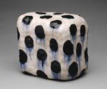 Hand-built glazed ceramic | 6.5h x 8.5w x 8.5d in. | Photo credit Dirk Bakker