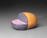 Hand-built glazed ceramic | 10h x 3w x 5.5d in. | Photo credit Dirk Bakker