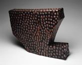 Hand-built glazed ceramic | 19.5h x 15w x 4d in. | Photo credit Dirk Bakker