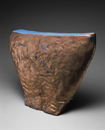 Hand-built glazed ceramic   20h x 16.5w x 6d in.   Photo credit Dirk Bakker