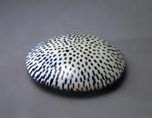 Hand-built glazed ceramic | 3.5h x 13.5w x 12.25d in. | Photo credit Dirk Bakker