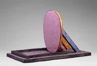 Hand-built glazed ceramic | 32h x 17w x 20d in. | Photo credit Dirk Bakker