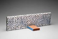 Hand-built glazed ceramic | 8.5h x 29w x 9d in. | Photo credit Dirk Bakker