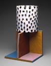 Hand-built glazed ceramic | 24h x 14.5w x 14.5d in. | Photo credit Dirk Bakker
