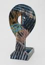 Hand-built glazed ceramic | 43.5h x 21w x 20d in. | Photo credit Dirk Bakker