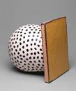 Hand-built glazed ceramic | 14.5h x 11w x 14.5d in. | Photo credit Dirk Bakker