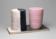 Hand-built glazed ceramic | h x w x d in. | Photo credit Dirk Bakker