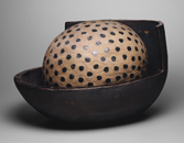 Hand-built glazed ceramic | 18.5h x 20w x 28.5d in. | Photo credit Dirk Bakker