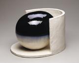 Hand-built glazed ceramic | 11.25h x 17w x 13.25d in. | Photo credit Dirk Bakker