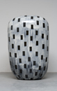 Hand-built glazed ceramic | 43h x 27w x 14d in. | Photo credit Dirk Bakker