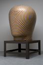 Glazed ceramics | 76h x 36w x 63d in. | Photo credit Dirk Bakker