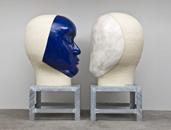 Glazed ceramics | L: 72h x 50w x 57d in. R: 73h x 53w x 52d in. | Photo credit Dirk Bakker