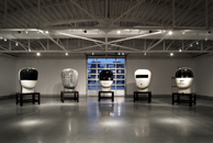 Installation View: Heads | Photo credit Tom Kessler