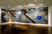 Hand-build glazed ceramics | 118h x 416w x 1d in. | Photo credit Dirk Bakker