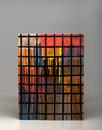 Glazed ceramics | 22.25h x 29.5w x 3d in. |  Photo credit Dirk Bakker