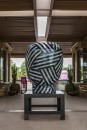 Untitled, Head, 2004 | glazed ceramics | 98 x 49 x 57 in. | photo credit: Takashi Hatakeyama