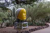 Untitled, Head, 2013 | glazed ceramics | 103h x 48w x 55d in. | photo credit: Takashi Hatakeyama