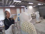 Hand-built glazed ceramics