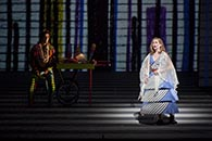 Nathan Gunn, Papageno, and Heidi Stober, Pamina | Photo credit: Takashi Hatakeyama