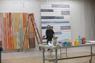 Jun Kaneko in his Omaha studio