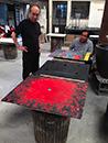 | Process, Sanchez de Dios Raku Studio, Cuernavaca, Mexico